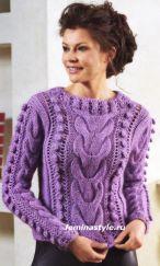 Hand Knitting Women's Sweaters (6)