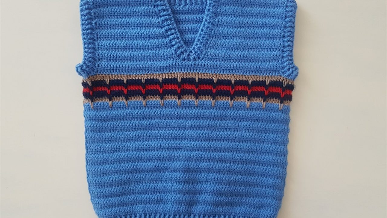 Knitted Boys Baby Sweater Free Pattern