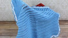 Easy to Knit Baby Blanket Patterns-1