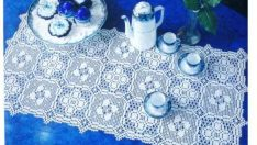 Lace Bedspread Room Sets and Schemes Free Pattern-1