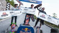 KnK Longboard Camp 2018 - Patrick L. Lombardi wins Red Bull No Paws Down