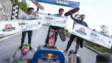 KnK Longboard Camp 2018 - Patrick L. Lombardi wins Red Bull No Paws Down