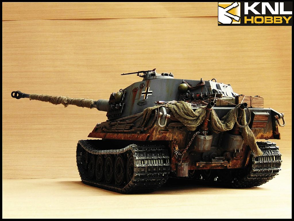 Germany King Tiger Gray Coating Knl Hobby