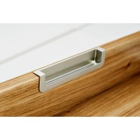 Recessed Finger Pull Cabinet Hardware