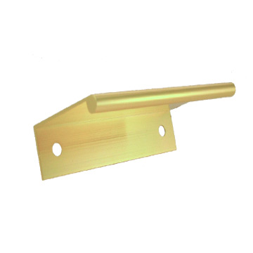 FJK-59NL/G 83 x 1.5mm ALUM. L PULL/BRASS (2)