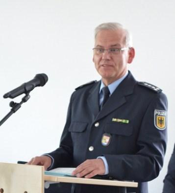 Gregor Pokrandt, Leiter Sachbereich Aus- und Fortbildung Bundespolizeidirektion Flughafen Frankfurt (Foto: Zentrum Oekumene - Bohländer)