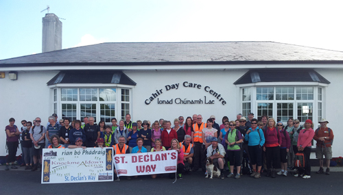 St. Declan's Way Walkers 2015