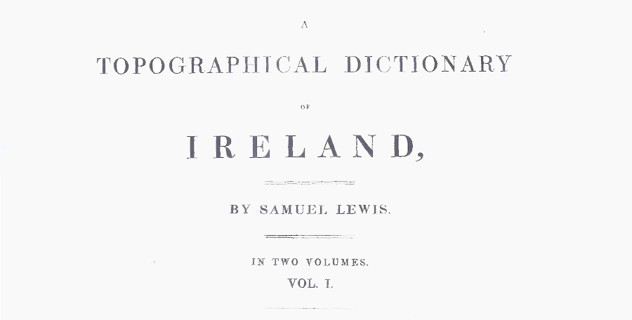 Topical Dictionary of Ireland