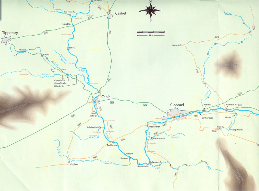 Knockmealdown-Fishing-Map
