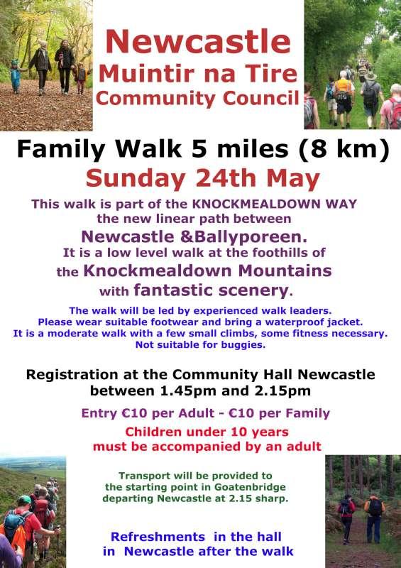 Newcastle Family Walk Day