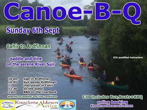 September 6th Canoe-B-Q