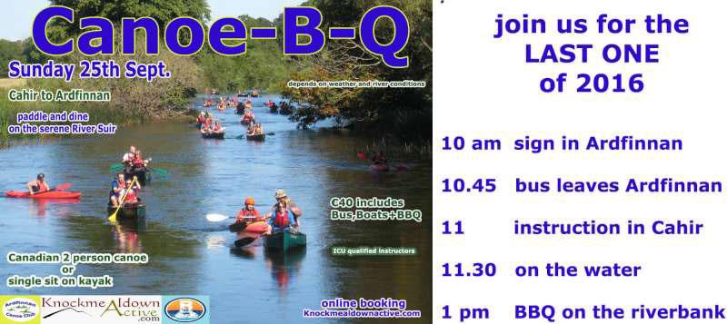 Canoe B Q - Sunday September 25th 2016