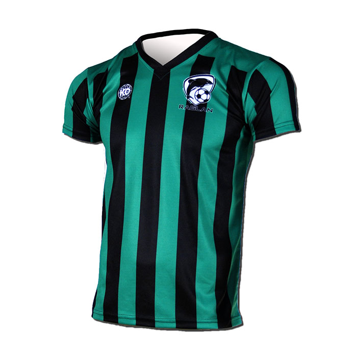 Raglan Soccer - Green