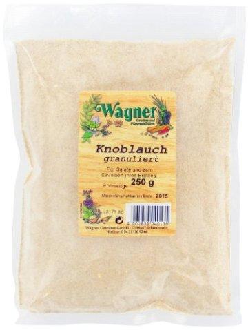 Wagner Gewürze Knoblauch granuliert, 2er Pack (2 x 250 g) - 1