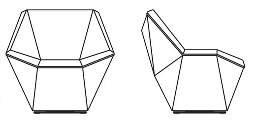 ergonomic chair design dimensions american black walnut dining chairs washington prism lounge knoll