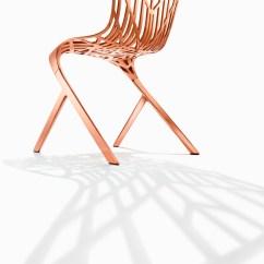 Washington Skeleton Chair Sling Fabric Aluminum Side By David Adjaye