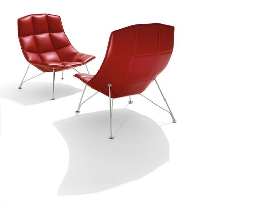 jehs laub lounge chair oak desk swivel knoll in leather
