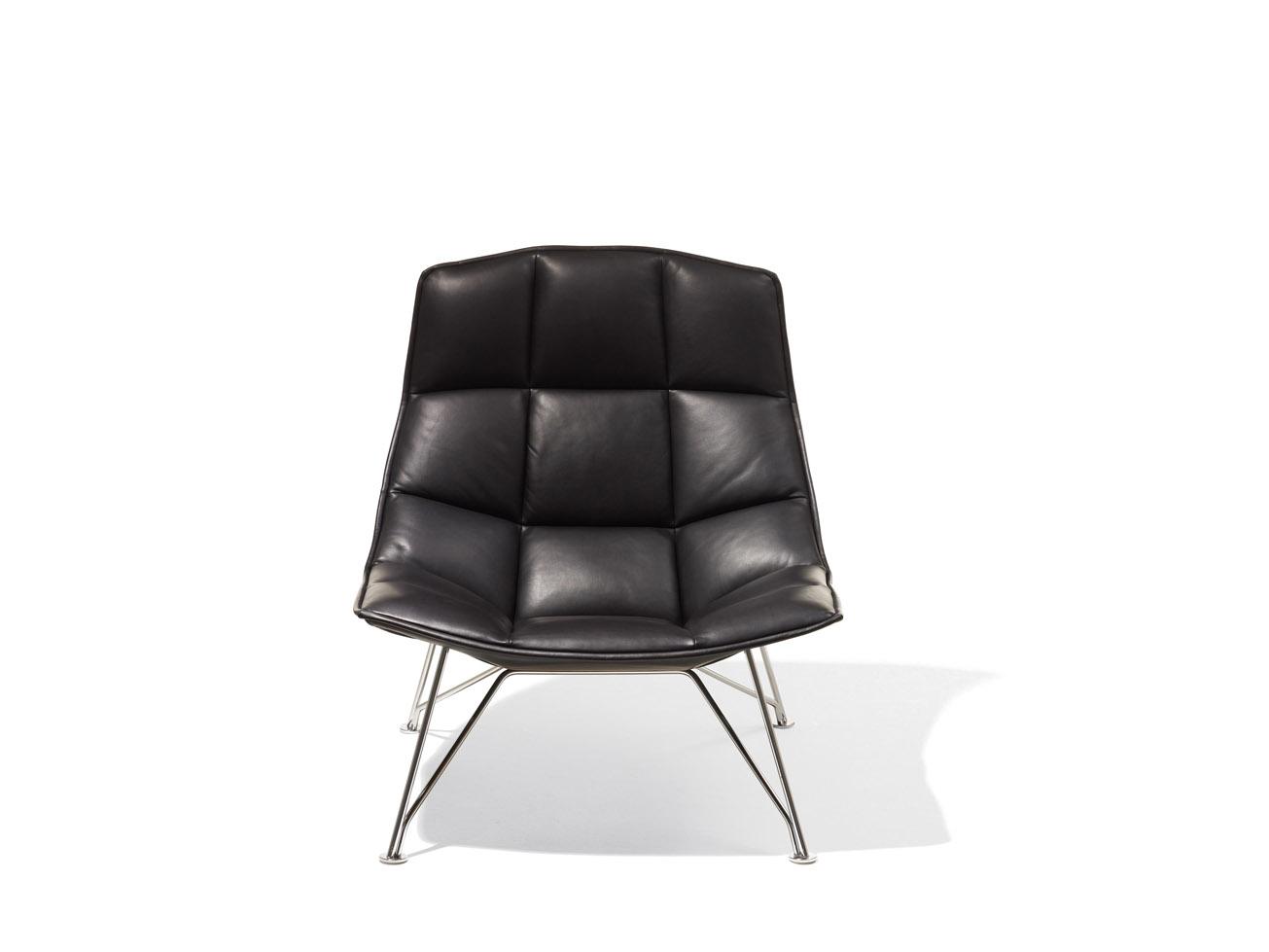jehs laub lounge chair custom outdoor cushions covers 43laub knoll