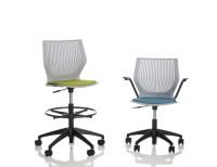 MultiGeneration by Knoll High Task Chair Armless | Knoll
