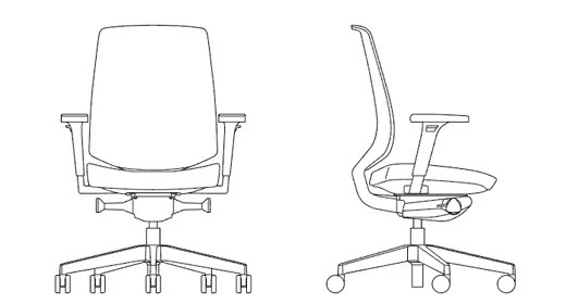 k.™ task Ergonomic Work Chair| Knoll