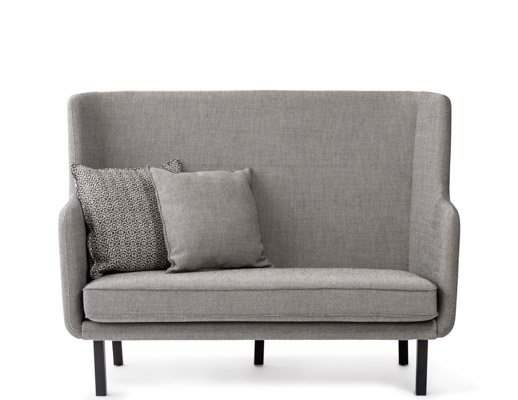 rockwell unscripted high back settee