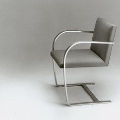 Chair Design Iron Wooden Stacking Church Chairs Brno Flat Bar Knoll Mies Van Der Rohe Tugendhat House History