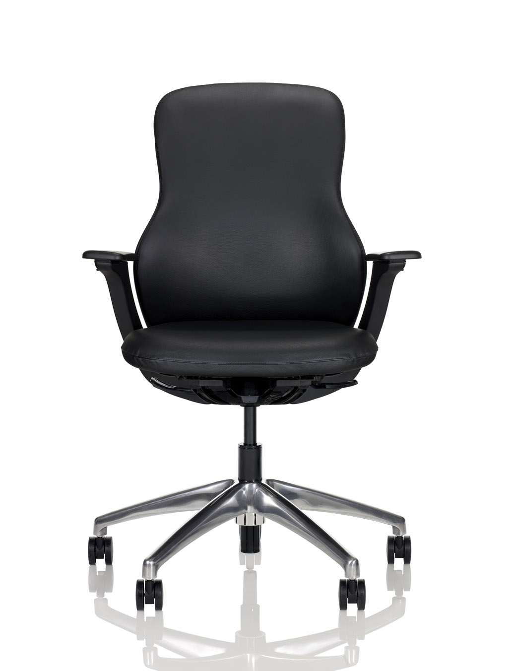 knoll generation task chair office adjustable arms regeneration by fully upholstered ergonomic