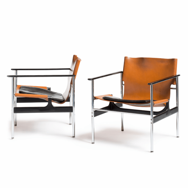aluminum management chair christmas full covers charles pollock model 657 arm chairs | knoll