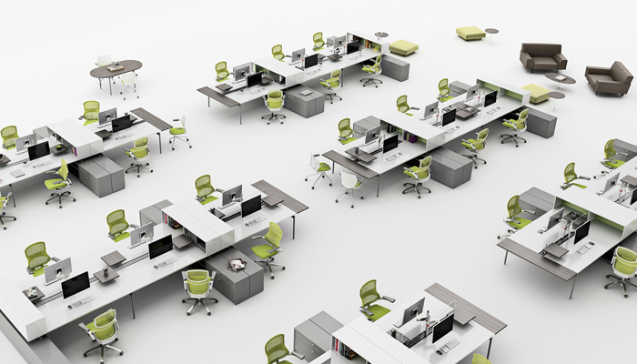 Open Plan Design And Planning Knoll