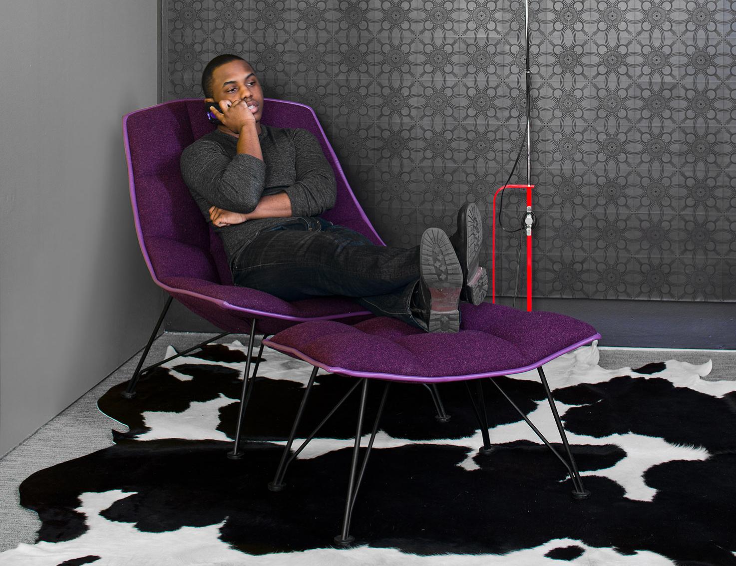 jehs laub lounge chair aeron white 43laub knoll