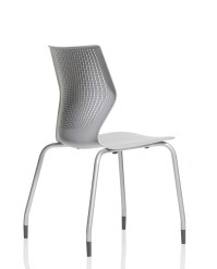 MultiGeneration by Knoll Stacking Base Ergonomic Side Chair