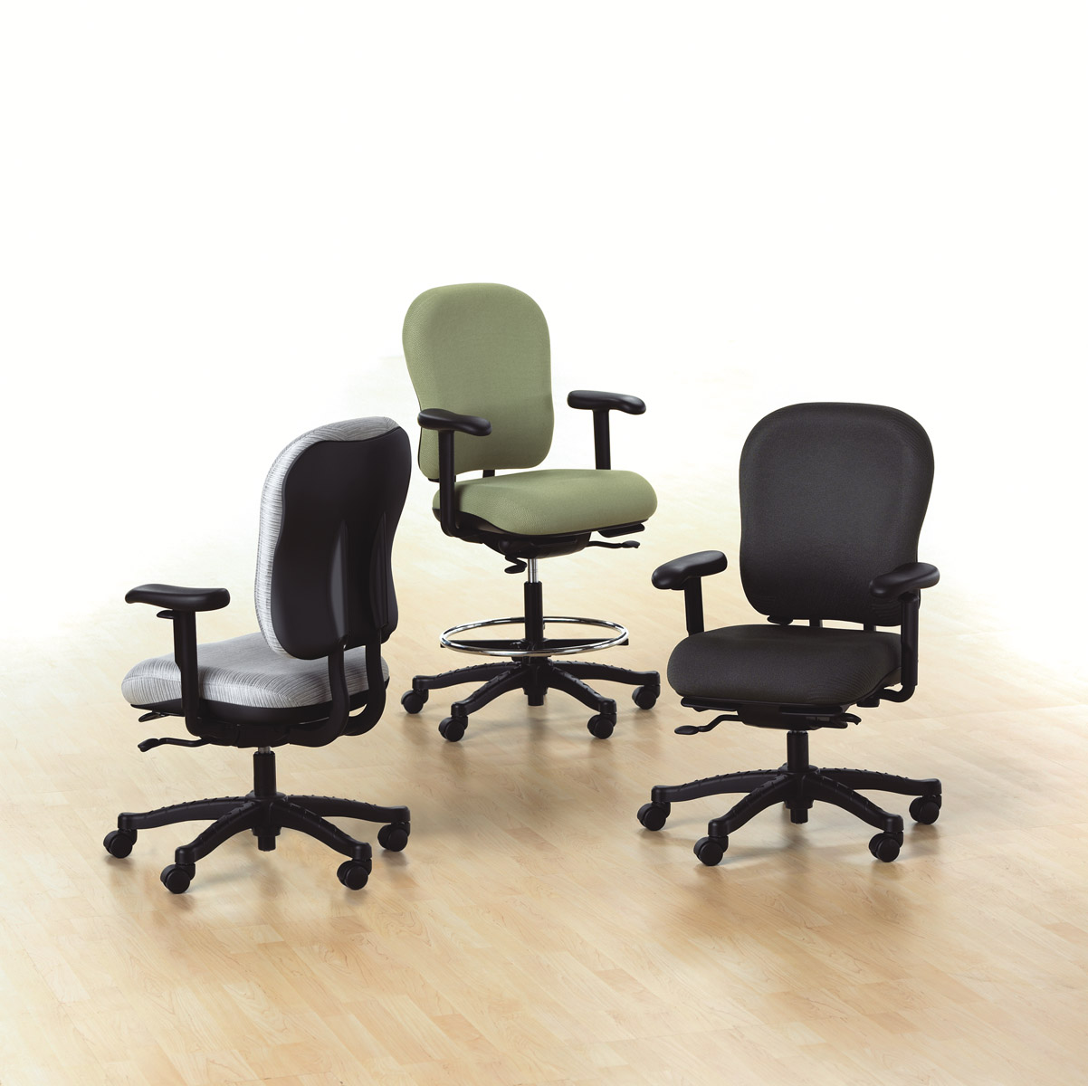 knoll rpm chair calusa mesh mid back high task