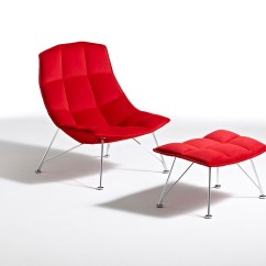 Jehs Laub Lounge Chair Swivel Gas Lift Knoll And Ottoman