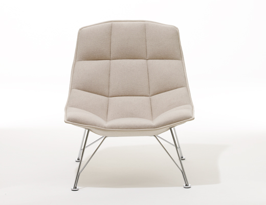 jehs laub lounge chair leap steelcase knoll