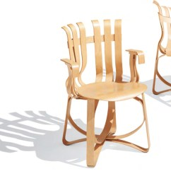 Frank Gehry Chair What Are Pool Chairs Made Out Of Hat Trick Knoll By