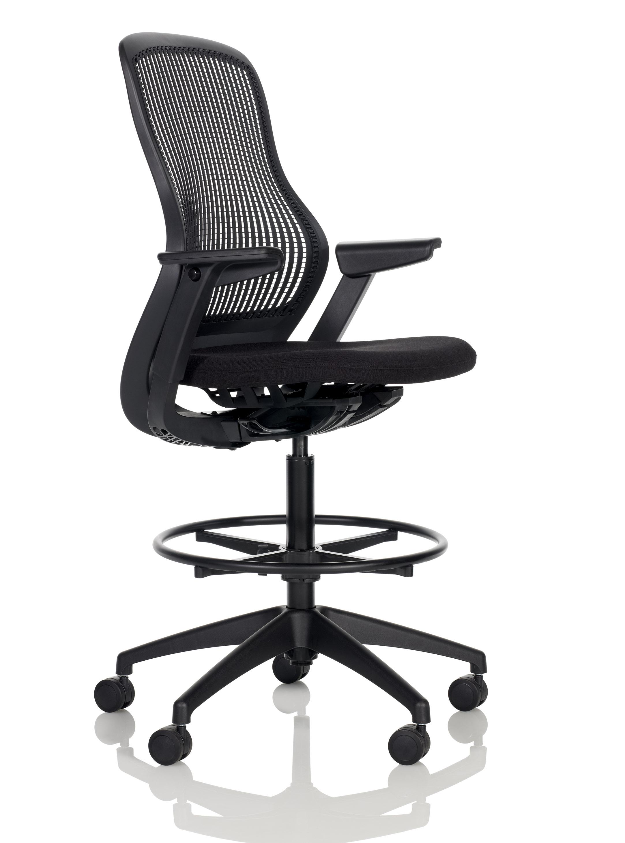 knoll generation task chair electric recliner motors parts regeneration by ergonomic high