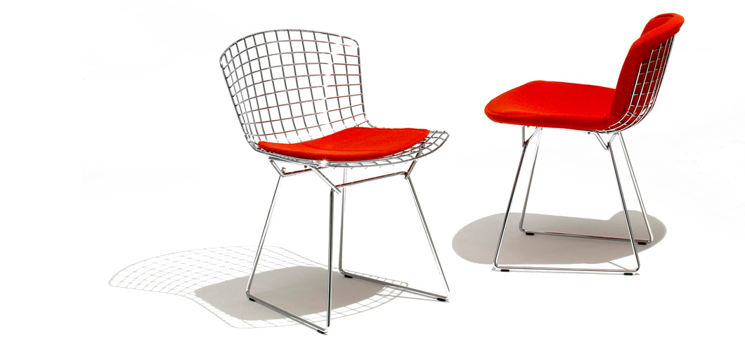bertoia side chair wooden card table and chairs knoll by harry
