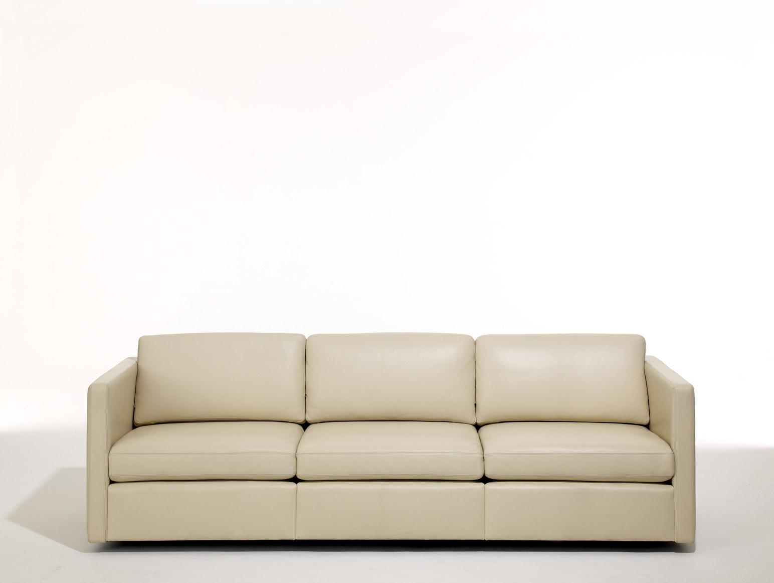 barcelona sectional sofa ottoman small bed double pfister and knoll