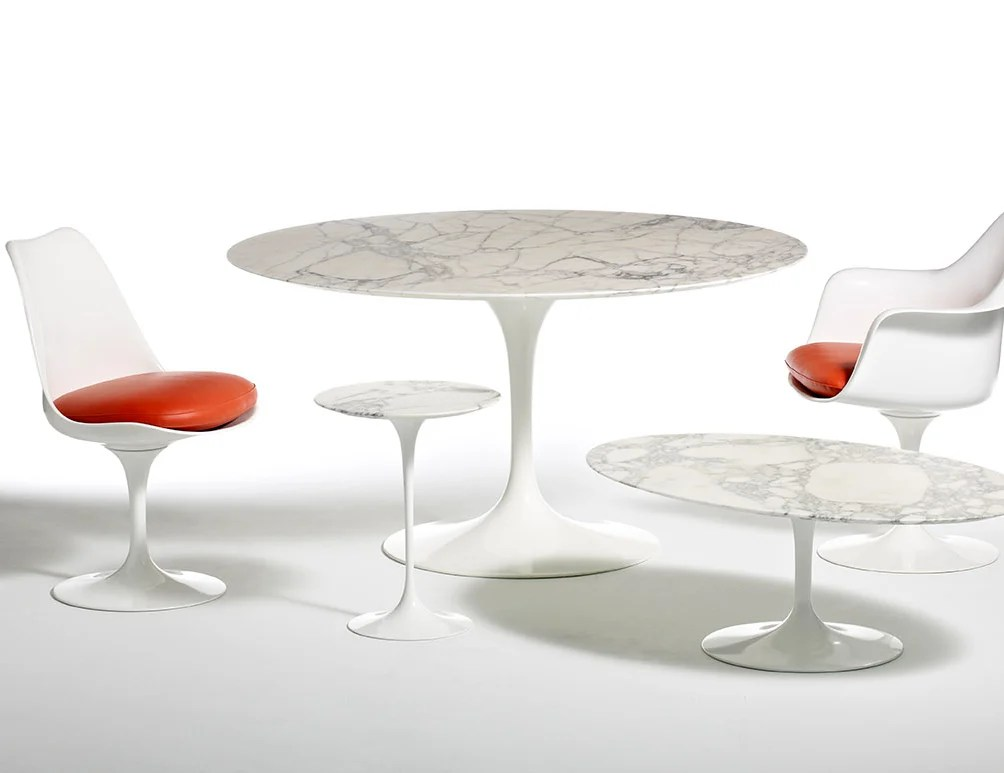 tulip table and chairs matrix fishing chair review saarinen round knoll eero pedestal collection tables dining side oval armchair armless