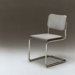 Marcel Breuer Cesca Chair With Armrests Small Bathroom Chairs Arms Knoll Tubular Steel Furniture Bauhaus History