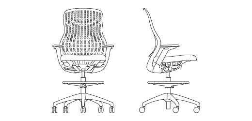 ReGeneration by Knoll® Ergonomic High Task Chair