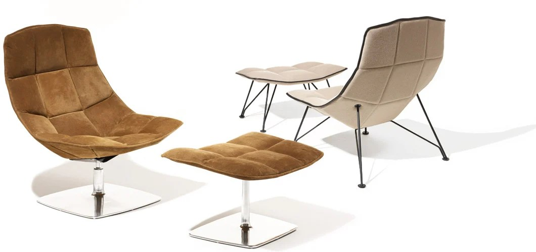 jehs laub lounge chair small fold up camping chairs knoll jehns and by markus jurgen