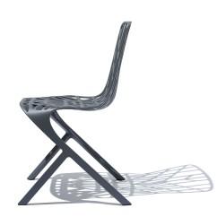 Skeleton Chair Coffee Chicco Floating High Washington Aluminum Side By David Adjaye