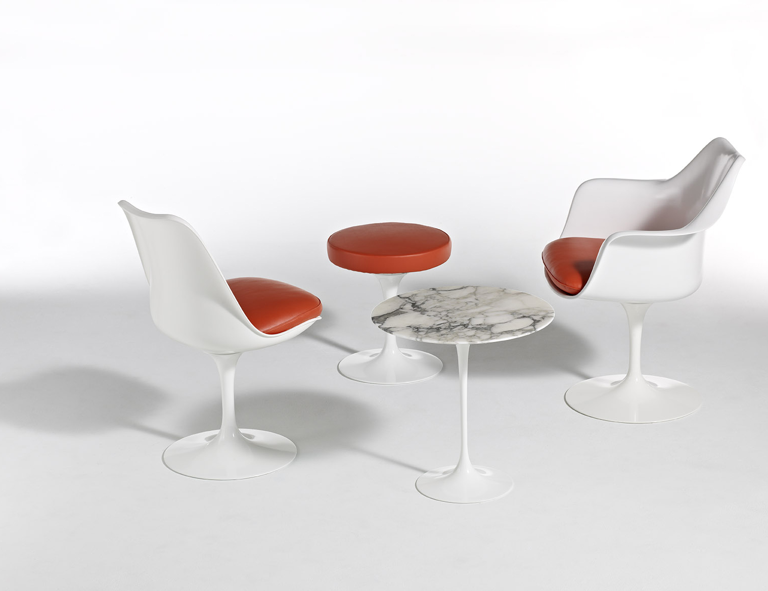 tulip table and chairs nz chair cover sash hire essex stool knoll eero saarinen pedestal collection armchair armless side