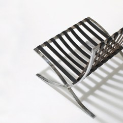 Steel Chair Manufacturing Process Office White Design Deconstructed The Barcelona Knoll Inspiration C 1931 As Produced