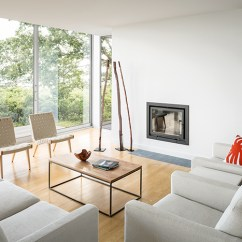 Island Inspired Living Room Furniture High Back Chairs For Casco Bay In Maine Inspiration Knoll Jens Risom Lounge Designed By Carol Wilson