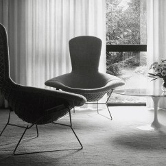Knoll Bertoia Chair Clear Vinyl Dining Room Covers Mit Chapel Inspiration