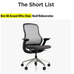 Best Affordable Office Chair 2018 Folding Bar Chairs Regeneration By Knoll Makes Gear Patrol S List Of The 14