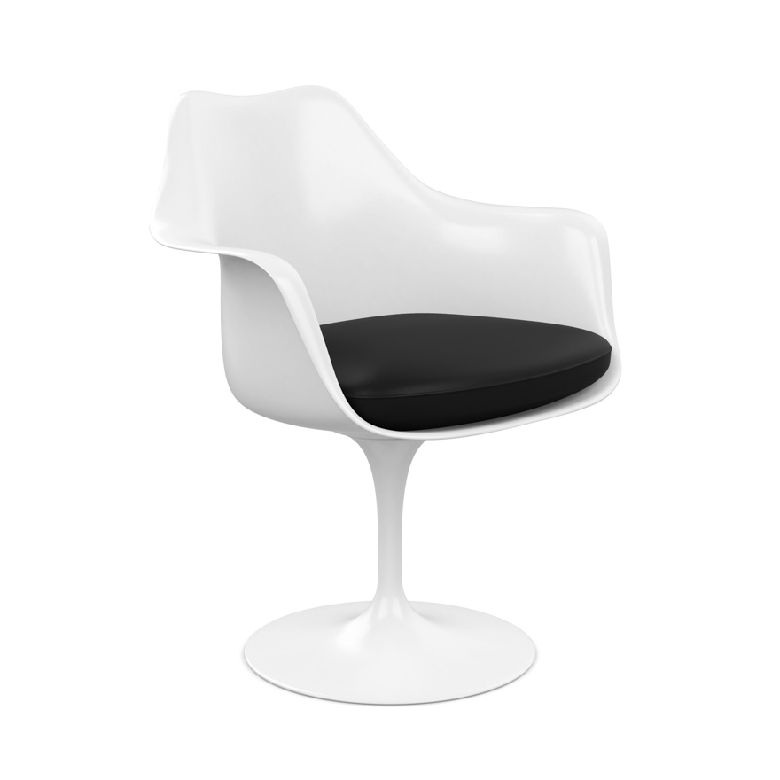 small arm chair gel cushion for office as seen on tv tulip knoll