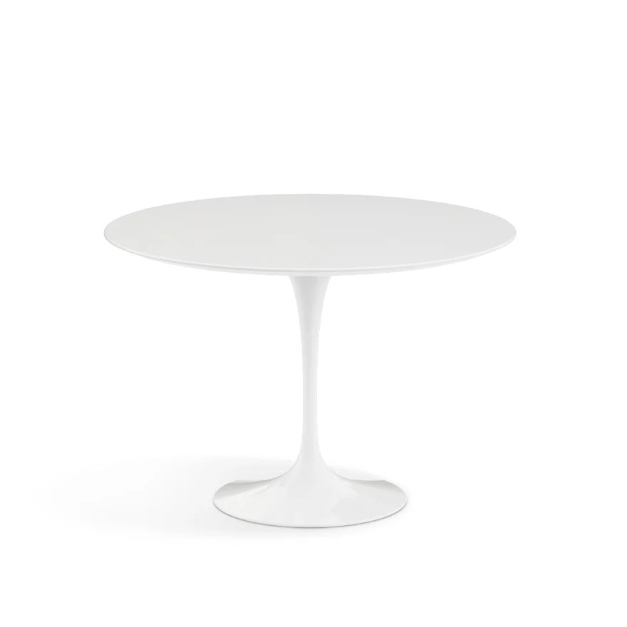 tulip table and chairs nz wedding for bride groom saarinen dining 42 round knoll